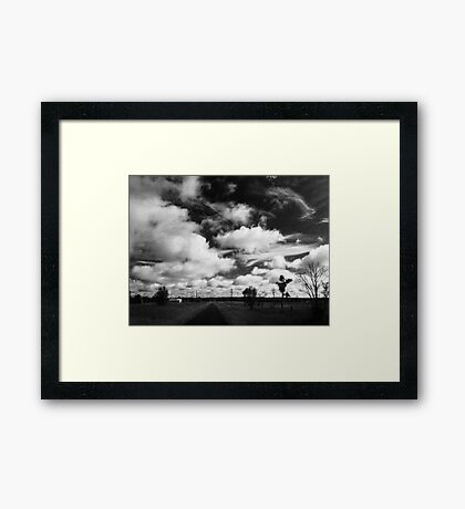 My View of Sixteen March - Morning (North) Framed Print
