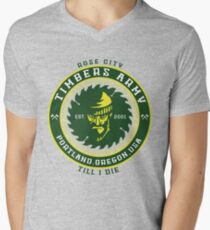 Rose City Till I Die Men's V-Neck T-Shirt