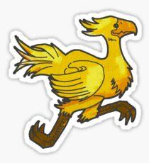 Painted Chocobo Sticker