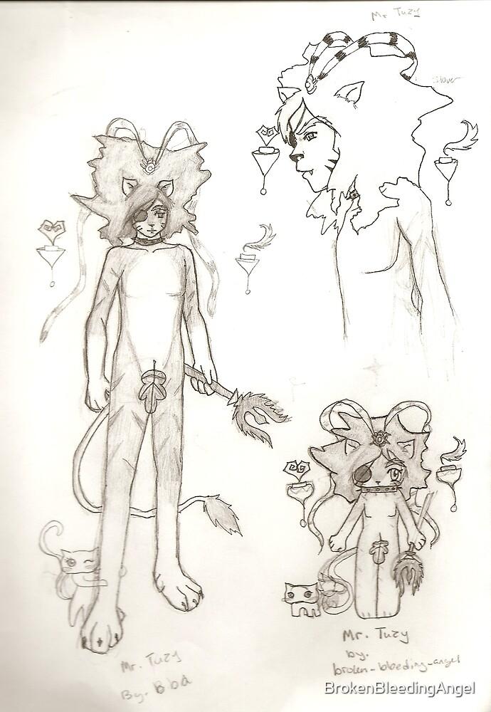 Mr Tuzy by BrokenBleedingAngel