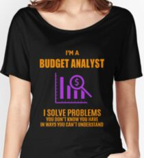 BUDGET ANALYST Women's Relaxed Fit T-Shirt