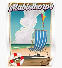 Mablethorpe Holiday poster Poster