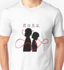 Your Name - Kimi no na wa - Taki and Mitsuha Unisex T-Shirt