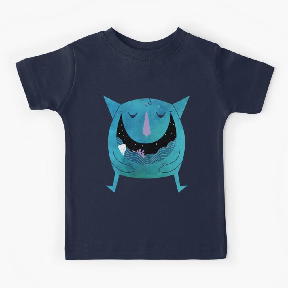 Tragado por el mar Camiseta para niños