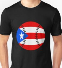 Puerto Rico Baseball Flag 2017 T-Shirt