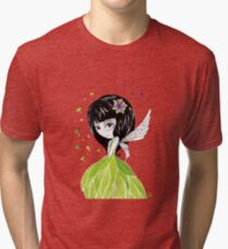 La petite fée des bois Tri-blend T-Shirt