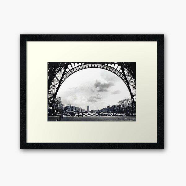 The Arch of Eifell Framed Art Print