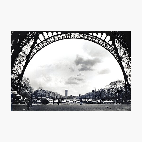 The Arch of Eifell Photographic Print