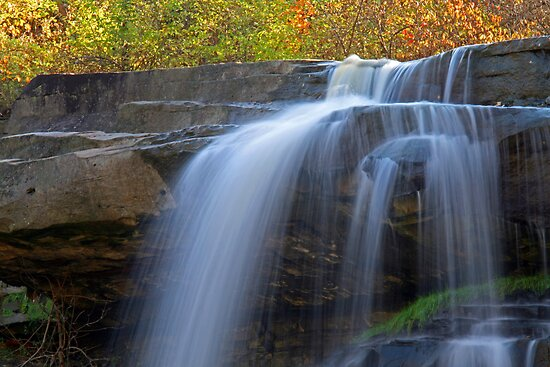 The Water Falls by Jeff  Burns