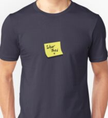 post it note Unisex T-Shirt