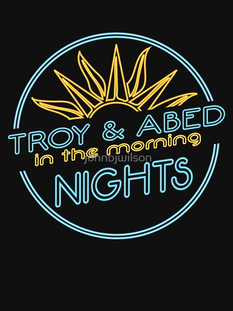 Troy and abed in the morning nights