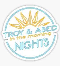 Nights!!!!!! Sticker