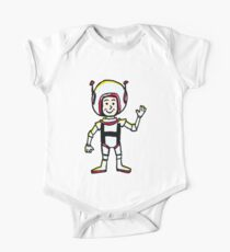 H Astronaut One Piece - Short Sleeve