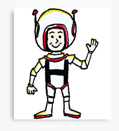 H Astronaut Canvas Print