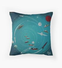 Space Hole 2 Throw Pillow