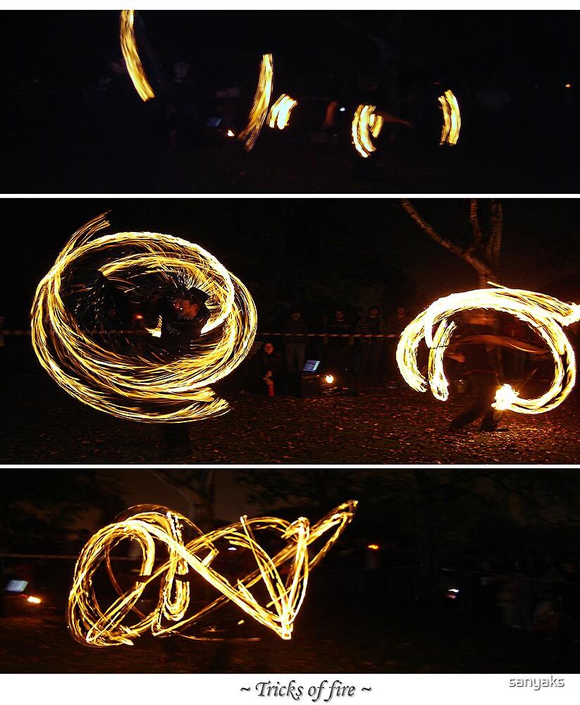 ~ Tricks Of Fire ~ by sanyaks