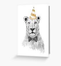Get the party started (color) Greeting Card