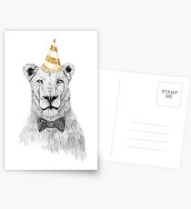Get the party started (color) Postcards