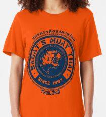 Sagat's Muay Thai Slim Fit T-Shirt