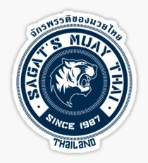Sagat's Muay Thai Sticker