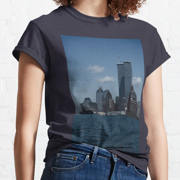 The World Trade Center, Twin Towers,New York Classic T-Shirt