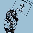 March for Science Sydney – Platypus, black by sciencemarchau