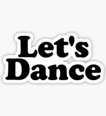 Let's Dance Graphic Sticker