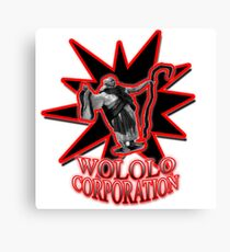 Wololo Corporation! Age of empires monk Canvas Print