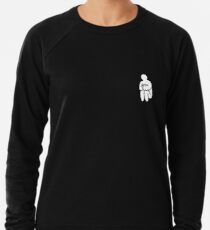 Curled Up Man Lightweight Sweatshirt