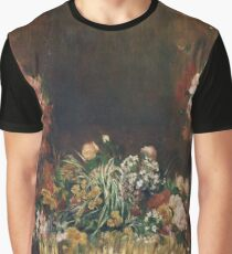 Auguste Renoir - Still Life With Flowers And Fruit, 1890 Graphic T-Shirt