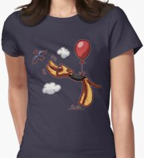 Aire-Balloon Womens Fitted T-Shirt