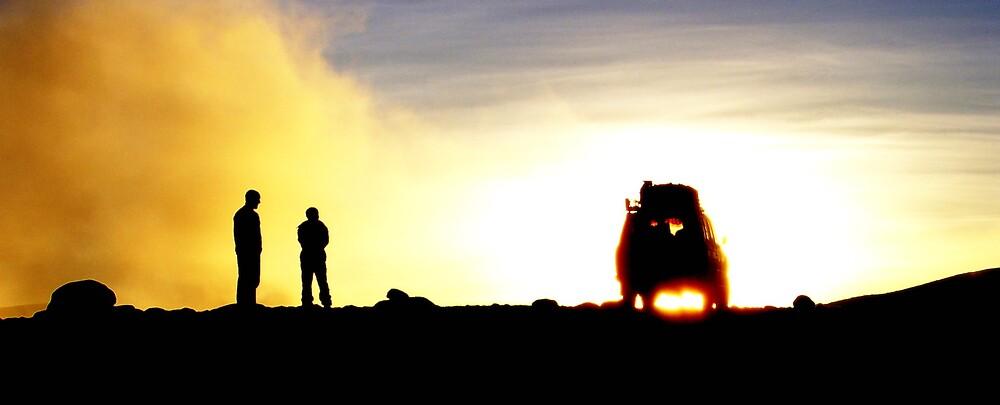 Sunrise in the Atacama Desert by ioandavies