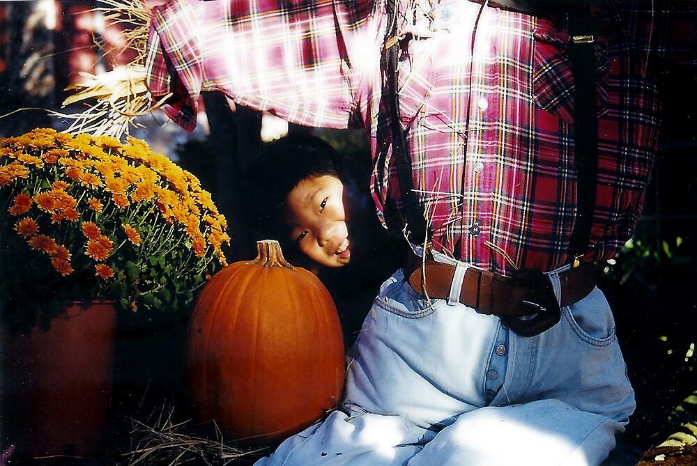 Peeking into Autumn by Susan Zohn