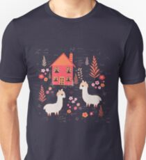 Mountain Chalet Alpacas Unisex T-Shirt