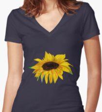 Rosie Sunshine Tee Shirt Women's Fitted V-Neck T-Shirt