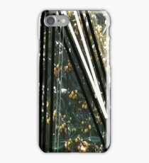 Lines and Loquat Leaves iPhone Case/Skin