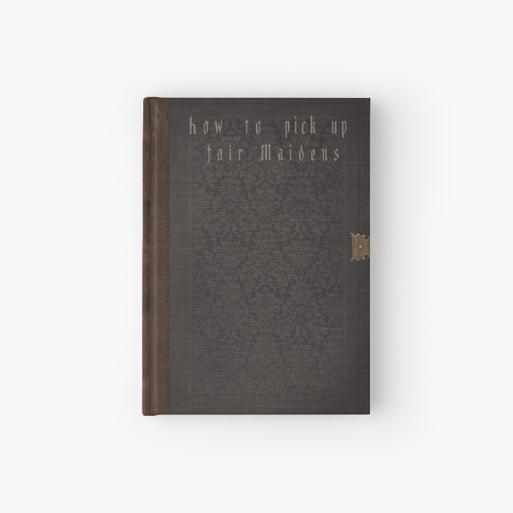 Bloodborne - How To Pick Up Fair Maidens Hardcover Journal