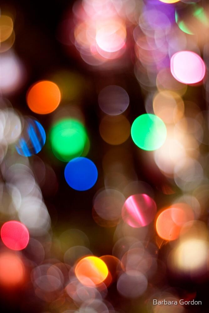 Glowing Lights 1 by Barbara Gordon
