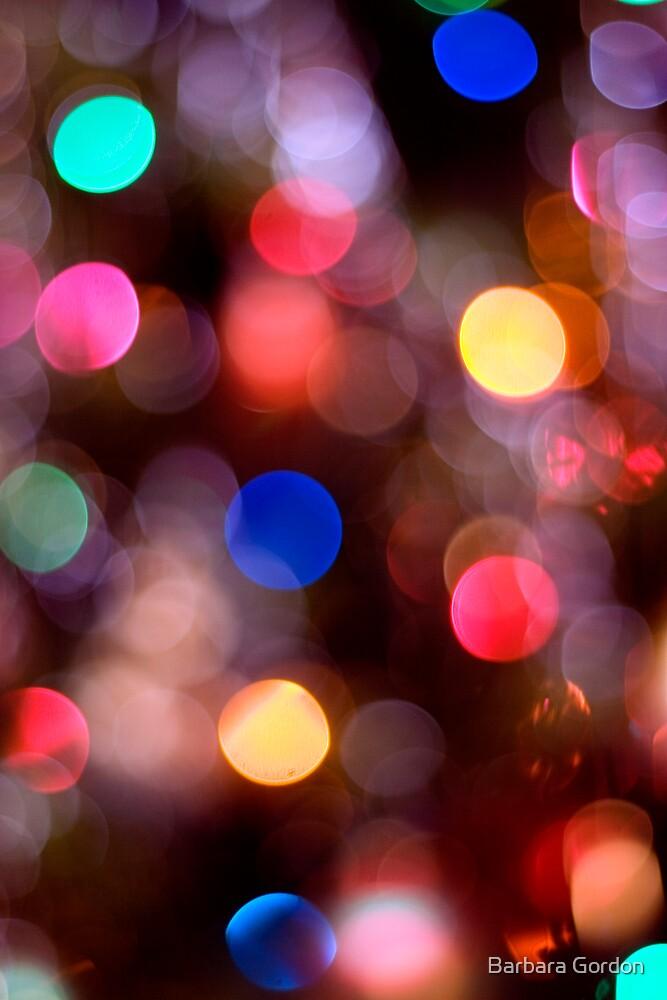 Glowing Lights 2 by Barbara Gordon