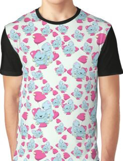 Koalas with love seamless vector pattern Graphic T-Shirt