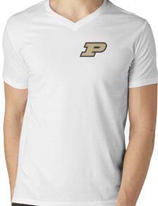 Purdue Mens V-Neck T-Shirt