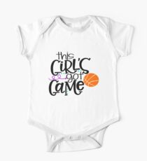 This Girl's Got Game- Basketball Kids Clothes