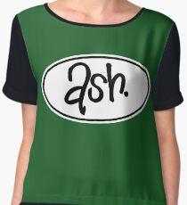 Ash Chiffon Top