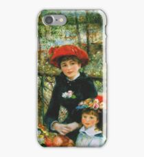 Auguste Renoir - On The Terrace 1881 iPhone Case/Skin