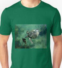 Galapagos Green Sea Turtle Unisex T-Shirt