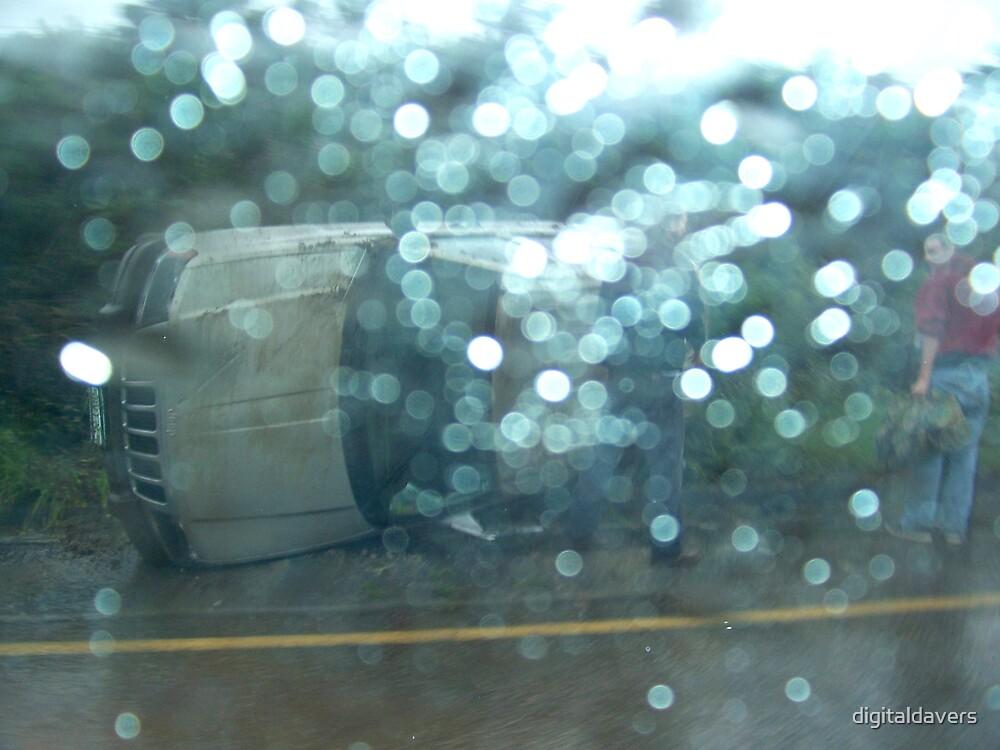 Caution: Slippery When Wet by digitaldavers