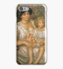 Auguste Renoir - Mother And Child (Madame Thurneyssen And Her Daughter) iPhone Case/Skin