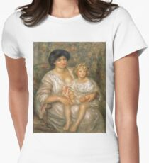 Auguste Renoir - Mother And Child (Madame Thurneyssen And Her Daughter) T-Shirt