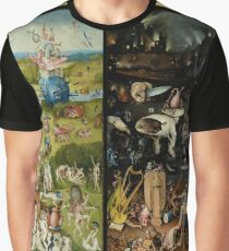 The Garden of Earthly Delights -  Hieronymus Bosch Graphic T-Shirt