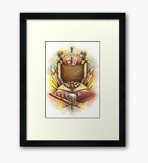 RPG Crest Framed Print